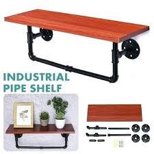 shelf industrial furniture wall bracket
