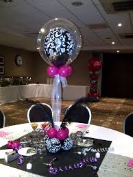 At 40 Party Decorations Purple And Silver Party Decorations Centre Pieces With Pretty