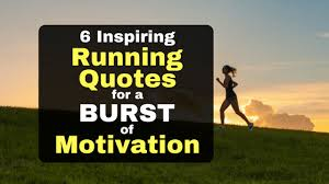 Motivational Running Quotes Amazing 48 Inspiring Running Quotes For A Burst Of Running Motivation