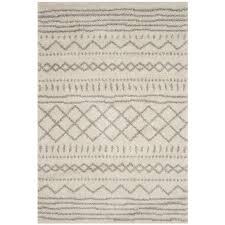 safavieh arizona sedona ivory beige indoor southwestern area rug common 8 x