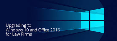 Windows 10 Upgrade For Law Firms Intelliteach