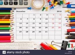 A Monthly Calendar December 2010 Series Stock Photo 72201531 Alamy