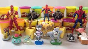 xxx SMILEY FACES with Surprise Toys Marvel Batman Super Heroes.