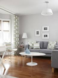 light gray living room furniture. Example Of A Transitional Living Room Design In Toronto With Gray Walls Light Furniture I