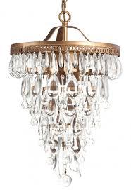 clarissa glass drop petite round chandelier designs