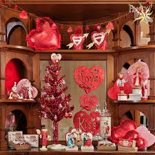 valentine tree topper red tinsel tree 30 set the stage for romance