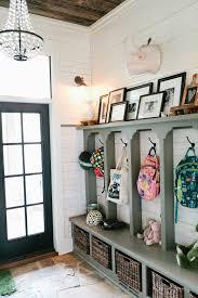 Eclectic Farmhouse Tour. Entryway HooksEntryway OrganizationKids Backpack OrganizationEntryway  IdeasHallway ...