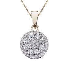 1 ct diamond caire pendant stock p9087