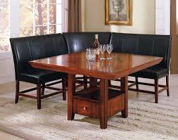 corner bench dining table set design