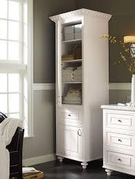 Narrow Linen Cabinet Bathroom Linen Tower Bathroom Vanities With Linen Tower And