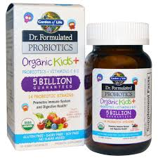 garden of life dr formulated probiotics organic kids 30 yummy chewables discontinued item