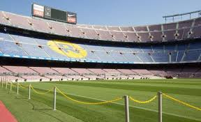 Fc Barcelona Seating Chart Camp Nou Barcelona Throughout Camp Nou Seating Chart