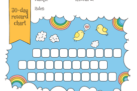 5 Day Reward Chart Animals Archives Free Printable Downloads From Choretell