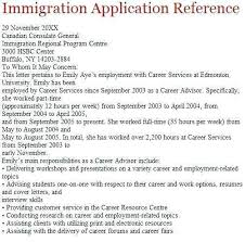 Ins Letter Of Recommendation Immigration For A Family Member