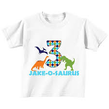 DIY <b>Dinosaur</b> Printable <b>Iron On Transfer</b> birthday shirt blue green ...