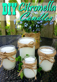 homemade citronella candles say farewell to mosquitoes these diy citronella candles are a fantastic