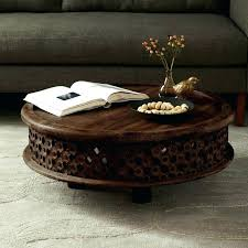 carved coffee table carved round coffee table round table amazing round glass dining table round ottoman carved coffee table