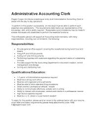 Example Of Cover Letter For Job Amazing Sample Accounting Clerk Cover Letter Dewdrops