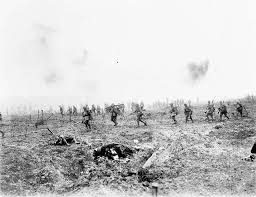 archived vimy ridge oral histories of the first world war photograph of the 29th infantry batallion under heavy fire advancing over no man s land through