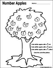 xAppleTreeNumbers.pagespeed.ic.MMYccEpxI8 preschool and kindergarten fall math worksheets on kindergarten printable worksheets