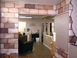 painting cinder block walls in basement wall ideas cement retaining basem