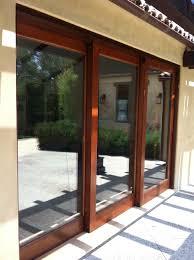 Replace Garage Door With Sliding Glass Door Wageuzi - Exterior sliding door track