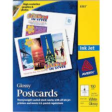 Avery Inkjet Print Invitation Card White Printing Company