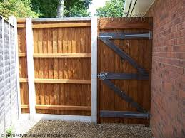 garden gates and fences. New Garden Fence \u0026 Side Gate Installation In Verwood, Dorset - Image Gates And Fences R
