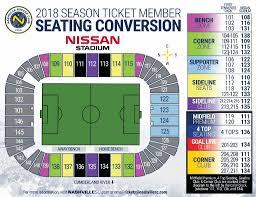 Nissan Stadium Chart Seating Conversion For Nissan Stadium Mls