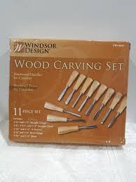 Windsor Design Chisels Windsor Design 11 Pc Wood Carving Set