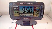 sharp weather station. ashton sutton sharp spc595 atomic table clock wireless weather station no sensor