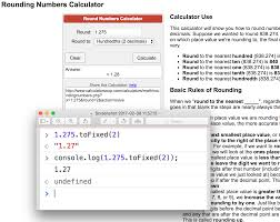 javascript reliable js rounding numbers with tofixed 2 of a 3 decimal number stack overflow