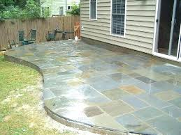 how to install flagstone patio with mortar how to lay flagstone walkway flagstone patio ideas install