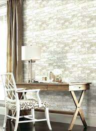 office wallpaper design. office wallpaper ideas home stone look work room antique furniture wall decoration design