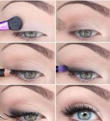a really pretty and simple eye make up you can use for college or