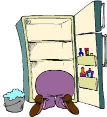 refrigerator clipart. cleaning refrigerator smelly clipart kid