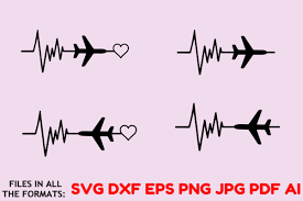From wikimedia commons, the free media repository. Airplane Ekg Wonderlust Vector Graphic By Thecrafterdepot Creative Fabrica