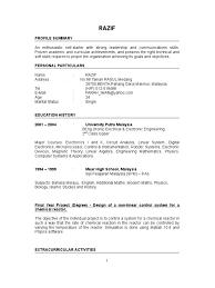 Sample Resume For Fresh Graduate Marine Transportation Resume