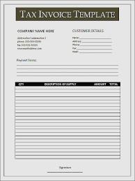 Tax Invoice Layout Gorgeous 48 Free Australian Tax Invoice Template