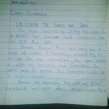 A Graduate Job Seeker Brought This Letter To My Office   Jobs     Nairaland A Graduate Job Seeker Brought This Letter To My Office   Jobs Vacancies   Nigeria