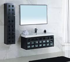 wall shelving uk bathroom wonderful bathroom canova modern black bathroom vanity with perforated design  m
