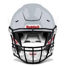 Raider Youth Helmet Sizing Chart Riddell Speedflex Varsity Raider Bay Silver Metallic Silver