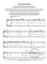 You And The Night And The Music Chart Really Easy Piano Chart Hits 6 Buy Now In Stretta Sheet