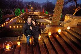 Christmas Light Proposal Christmas Lights At The Philbrook Museum Of Art Winter