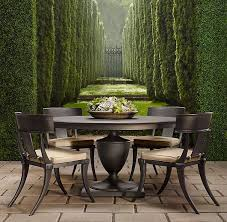 best restoration hardware outdoor dining table 71 curated backyard ideas janetboswell conditioning metals