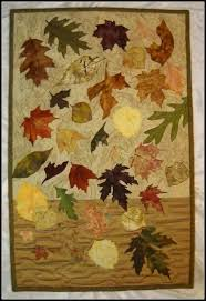 Buy a Custom Made Autumn Free Fall Quilted Wall Hanging, made to ... & Custom Made Autumn Free Fall Quilted Wall Hanging Adamdwight.com