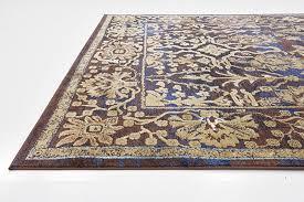 premium vintage traditional modern rugs dark blue 7 x 10 ft st