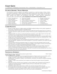 electrical engineer resume samples electrical engineering nice gallery of project engineer resume example