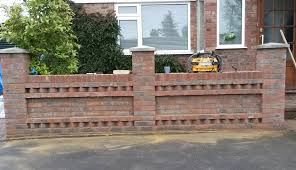 front garden brick wall designs low walls diy traditional brick garden walls decorative walls