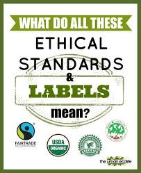 what do all these ethical standards and labels mean the urban  what do all these ethical standards and labels mean the urban ecolife